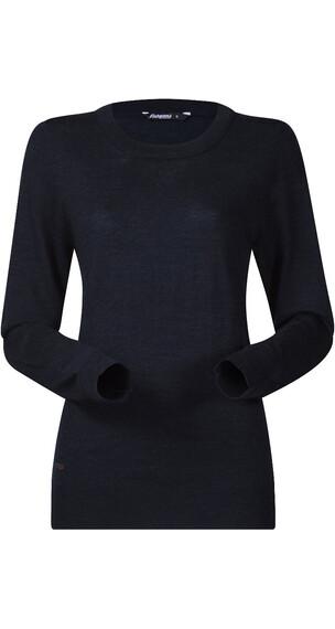 Bergans Fivel Maglietta a maniche lunghe Donna blu